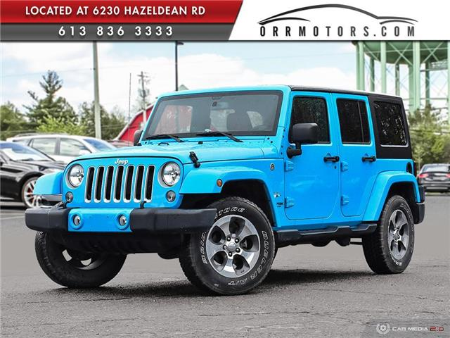 2018 Jeep Wrangler JK Unlimited Sahara (Stk: 1047a-rc) in Stittsville - Image 1 of 25