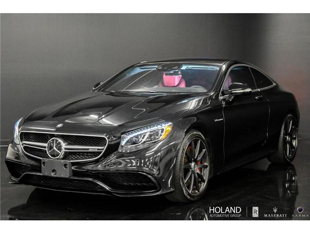 2017 Mercedes-Benz AMG S 63 Base (Stk: P0730) in Montreal - Image 1 of 30