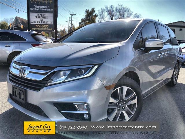 2018 Honda Odyssey EX-L (Stk: 501442) in Ottawa - Image 1 of 27