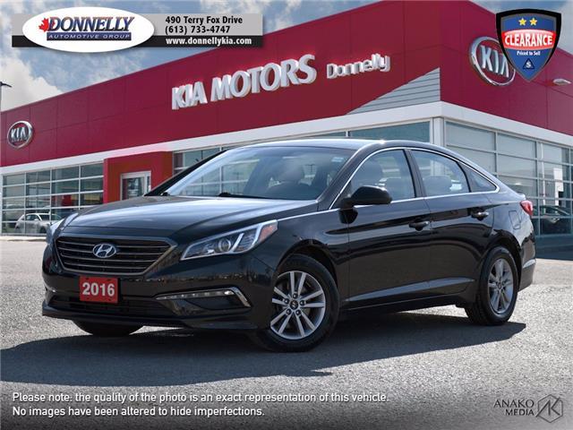 2016 Hyundai Sonata GL (Stk: KT161A) in Ottawa - Image 1 of 26