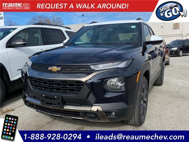 2021 Chevrolet TrailBlazer ACTIV (Stk: 21-0079) in LaSalle - Image 1 of 11