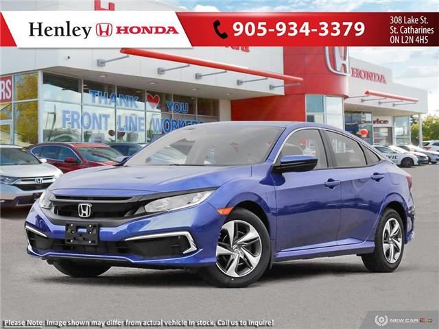 2020 Honda Civic LX (Stk: H19203) in St. Catharines - Image 1 of 23