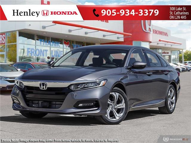 2020 Honda Accord EX-L 1.5T (Stk: H19079) in St. Catharines - Image 1 of 23