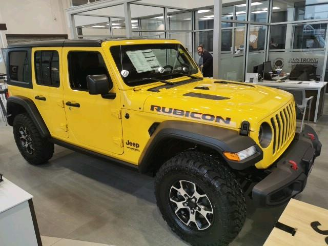 2021 Jeep Wrangler Unlimited Rubicon (Stk: 21-42) in Huntsville - Image 1 of 1