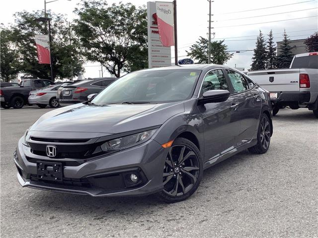 2021 Honda Civic Sport (Stk: 21035) in Barrie - Image 1 of 23