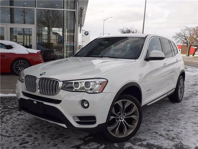 2017 BMW X3 xDrive28i (Stk: P9632) in Gloucester - Image 1 of 27