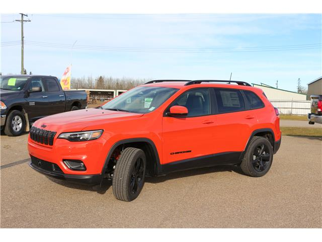 2021 Jeep Cherokee Altitude (Stk: MT008) in Rocky Mountain House - Image 1 of 30