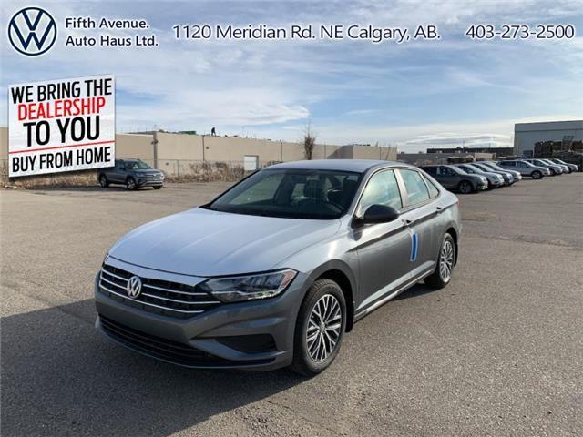 2021 Volkswagen Jetta Comfortline (Stk: 21045) in Calgary - Image 1 of 23