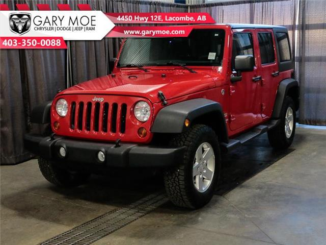 2012 Jeep Wrangler Unlimited Sport (Stk: F202540A) in Lacombe - Image 1 of 23