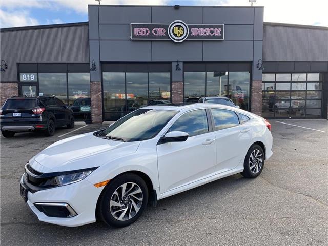 2020 Honda Civic EX (Stk: UC4040) in Thunder Bay - Image 1 of 15