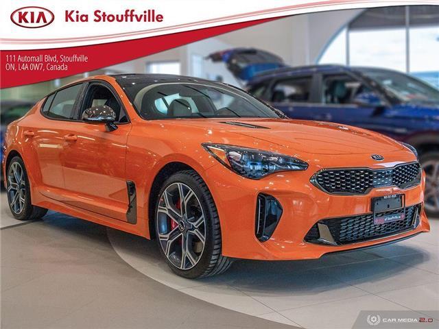 2021 Kia Stinger GT Limited - Neon Orange (Stk: 21080) in Stouffville - Image 1 of 24