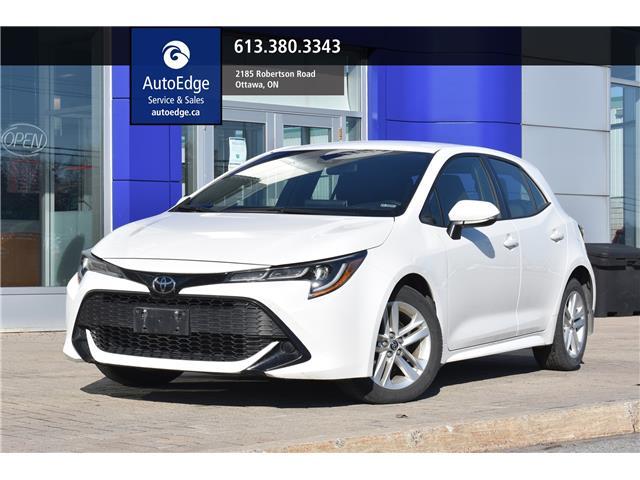 2019 Toyota Corolla Hatchback Base (Stk: A0396) in Ottawa - Image 1 of 29