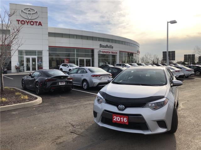 2016 Toyota Corolla LE (Stk: P2353) in Whitchurch-Stouffville - Image 1 of 13