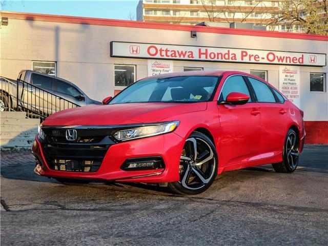 2018 Honda Accord Sport (Stk: H86660) in Ottawa - Image 1 of 28