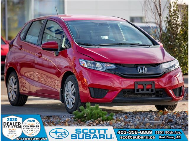 2015 Honda Fit LX 3HGGK5H53FM103314 03314U in Red Deer