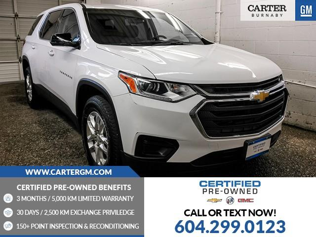 2019 Chevrolet Traverse LS 1GNERFKW5KJ203471 M9-22621 in Burnaby