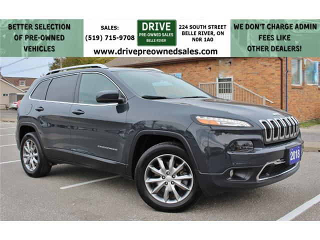 2018 Jeep Cherokee Limited (Stk: D0314) in Belle River - Image 1 of 28