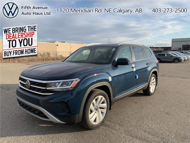 2021 Volkswagen Atlas 3.6 FSI Highline (Stk: 21047) in Calgary - Image 1 of 30