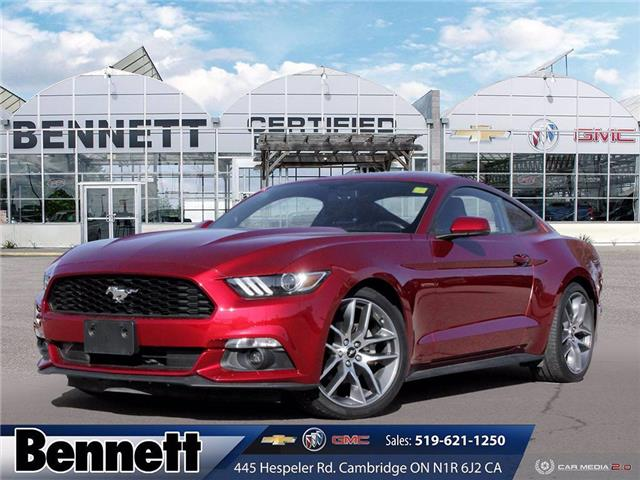 2016 Ford Mustang EcoBoost (Stk: 200749B) in Cambridge - Image 1 of 27