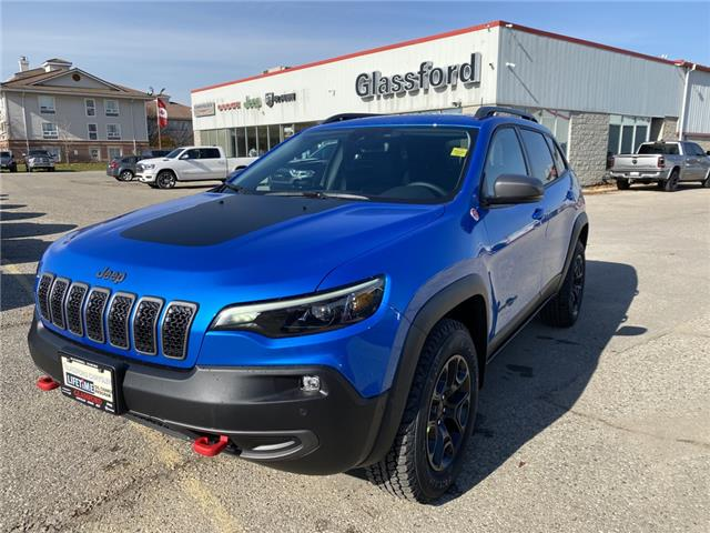 2021 Jeep Cherokee Trailhawk (Stk: 21-037) in Ingersoll - Image 1 of 19