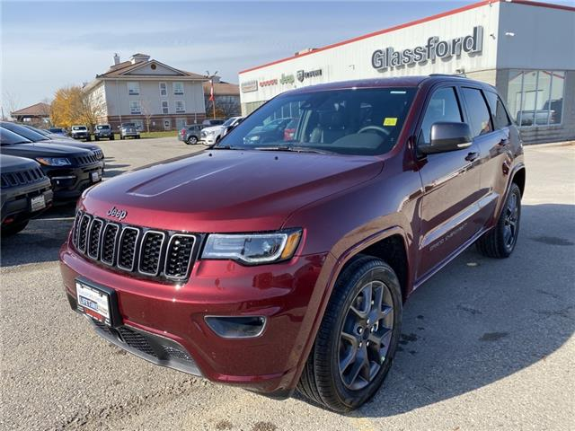 2021 Jeep Grand Cherokee Limited (Stk: 21-038) in Ingersoll - Image 1 of 20