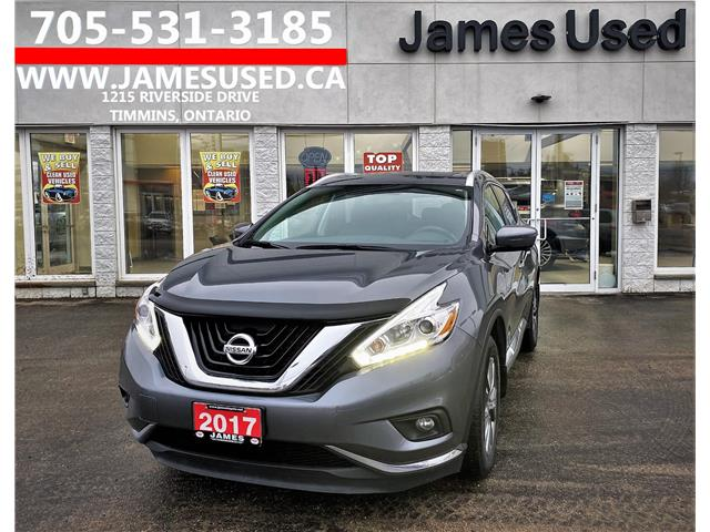 2017 Nissan Murano SL (Stk: P02850) in Timmins - Image 1 of 14
