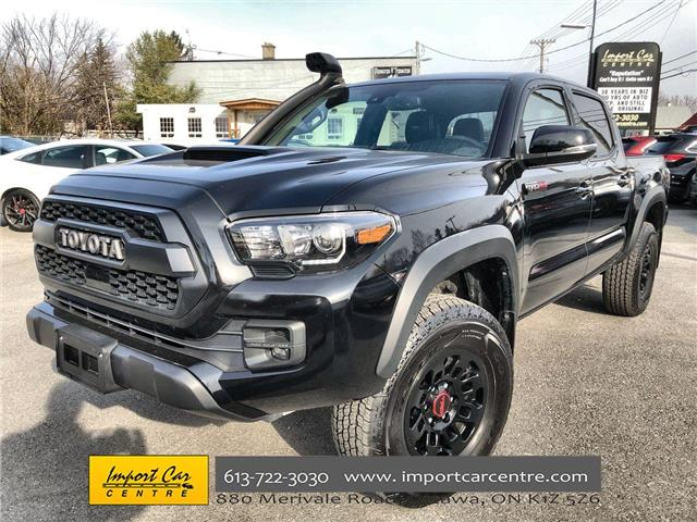 2019 Toyota Tacoma TRD Off Road (Stk: ) in Ottawa - Image 1 of 24