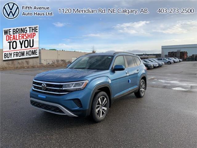 2021 Volkswagen Atlas 3.6 FSI Comfortline (Stk: 21049) in Calgary - Image 1 of 30