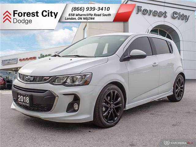 2018 Chevrolet Sonic Premier Auto (Stk: 20-C031A) in Sudbury - Image 1 of 17