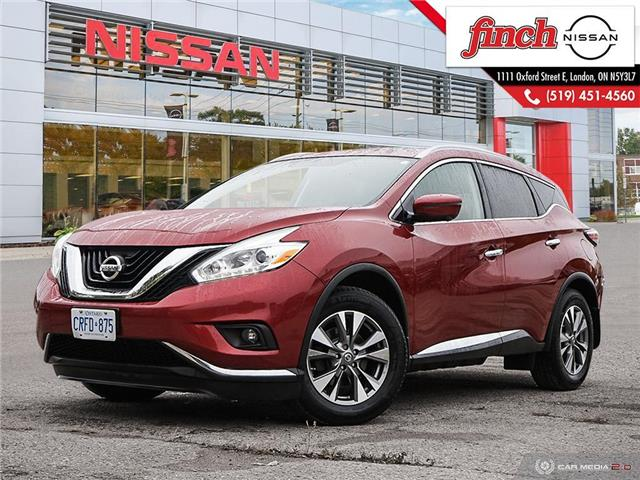 2017 Nissan Murano SL (Stk: 5493) in London - Image 1 of 27