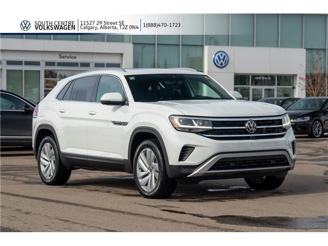 2020 Volkswagen Atlas Cross Sport 3.6 FSI Execline (Stk: 00107) in Calgary - Image 1 of 46