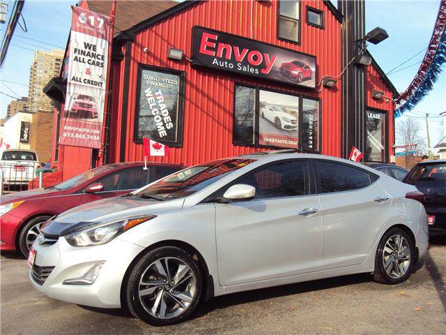 2014 Hyundai Elantra Limited (Stk: ) in Ottawa - Image 1 of 30