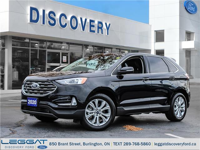 2020 Ford Edge Titanium (Stk: 20-64886-T) in Burlington - Image 1 of 27