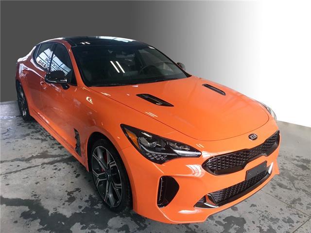 2021 Kia Stinger GT Limited - Neon Orange (Stk: S21110) in Stratford - Image 1 of 20