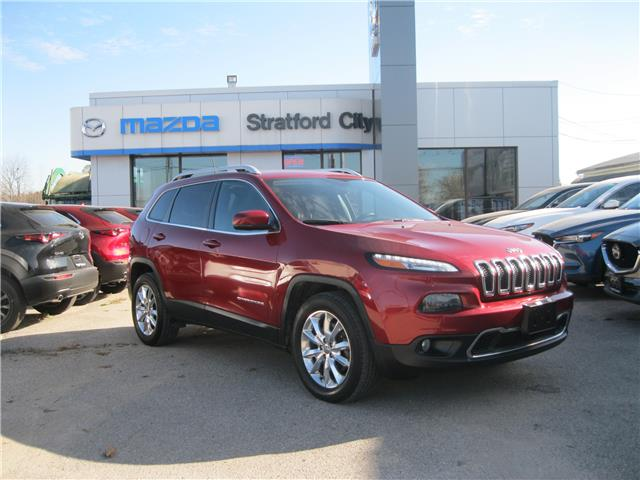 2016 Jeep Cherokee Limited (Stk: 20048A) in Stratford - Image 1 of 27
