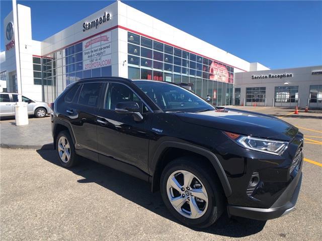 2021 Toyota RAV4 Hybrid Limited (Stk: 210136) in Calgary - Image 1 of 21