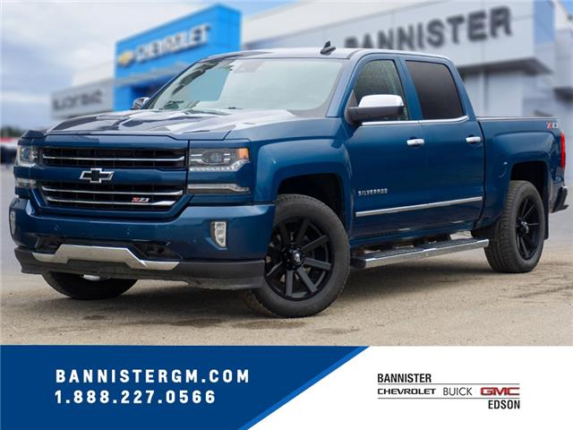 2018 Chevrolet Silverado 1500 2LZ (Stk: 20-004A) in Edson - Image 1 of 14