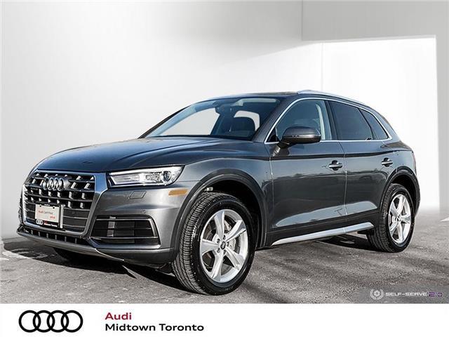 2018 Audi Q5 2.0T Progressiv (Stk: P8388) in Toronto - Image 1 of 24