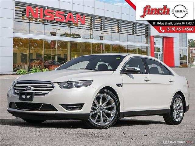 2018 Ford Taurus Limited At 24995 For Sale In London Finch Nissan