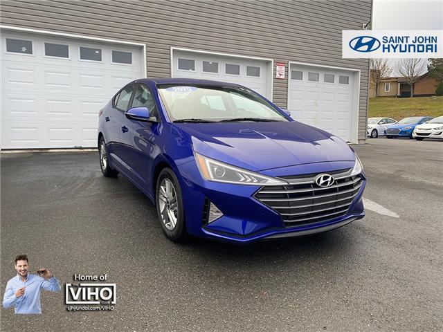 2020 Hyundai Elantra Preferred (Stk: U2979) in Saint John - Image 1 of 20