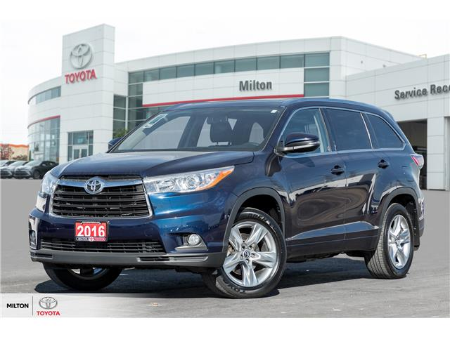2016 Toyota Highlander Limited (Stk: 273044A) in Milton - Image 1 of 27