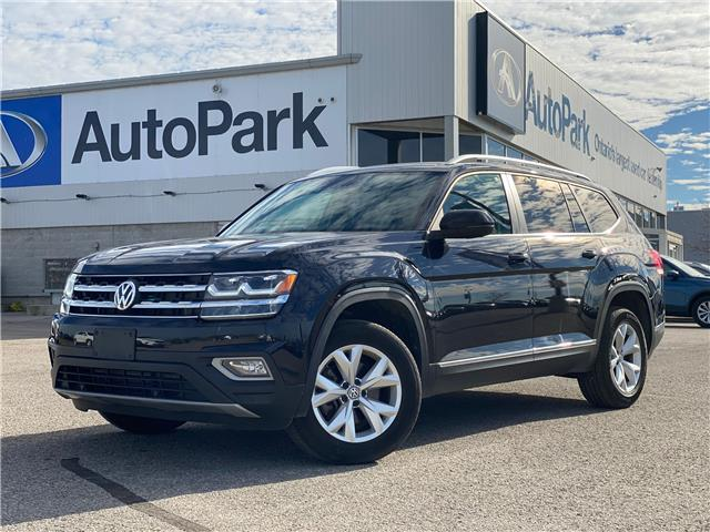 2019 Volkswagen Atlas 3.6 FSI Highline (Stk: 19-41658RJB) in Barrie - Image 1 of 31