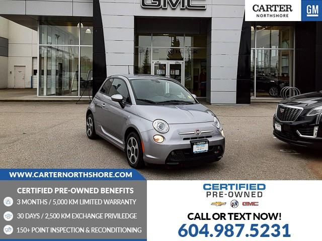 2017 Fiat 500E  (Stk: 974520) in North Vancouver - Image 1 of 28
