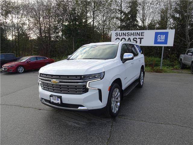 2021 Chevrolet Tahoe Premier (Stk: TM139576) in Sechelt - Image 1 of 25