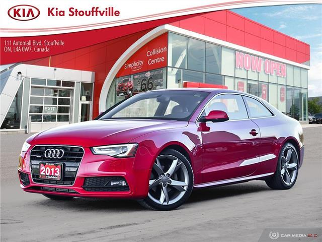 2013 Audi A5 2.0T S line Competition (Stk: 21112A) in Stouffville - Image 1 of 27
