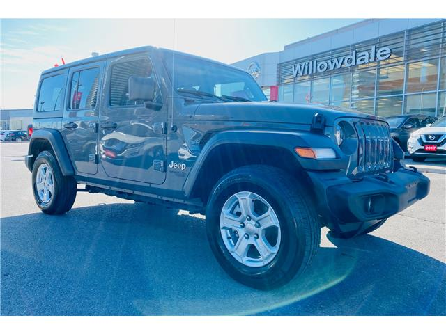 2019 Jeep Wrangler Unlimited Sport (Stk: C35685) in Thornhill - Image 1 of 21