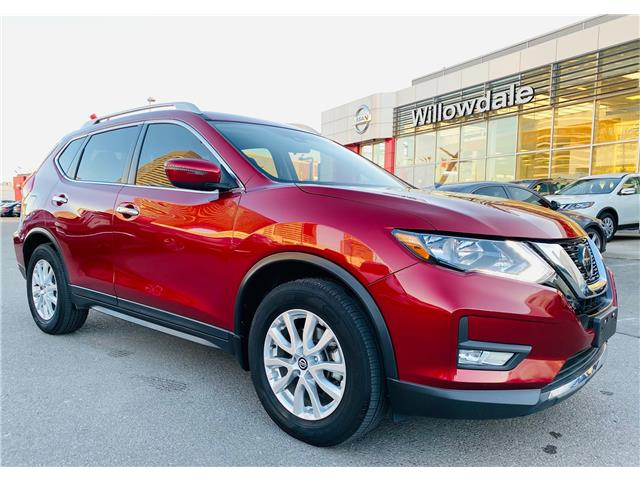2019 Nissan Rogue SV (Stk: N1017A) in Thornhill - Image 1 of 19