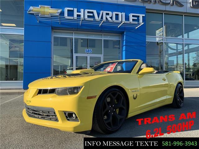 2014 Chevrolet Camaro SS (Stk: X8207B) in Ste-Marie - Image 1 of 30