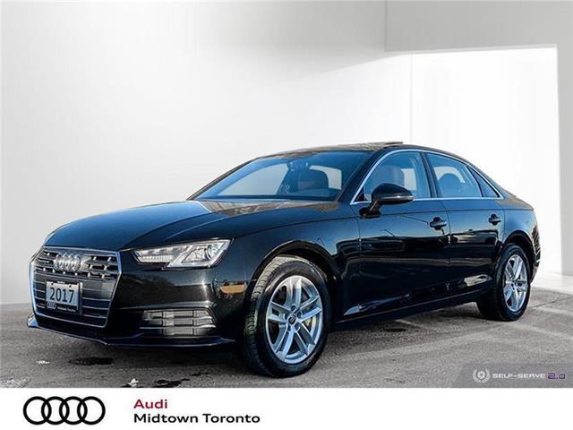 2017 Audi A4 2.0T Komfort (Stk: P8468) in Toronto - Image 1 of 22