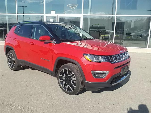2020 Jeep Compass Limited (Stk: 5827 Ingersoll) in Ingersoll - Image 1 of 27